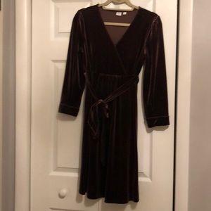 Gap Maternity Velvet Dress